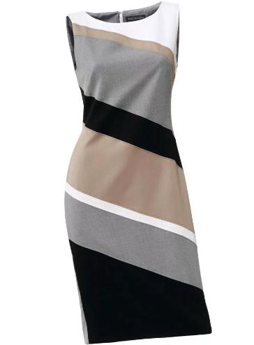 Модные платья футляр