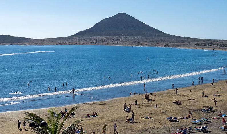 лучшие пляжи тенерифе испания