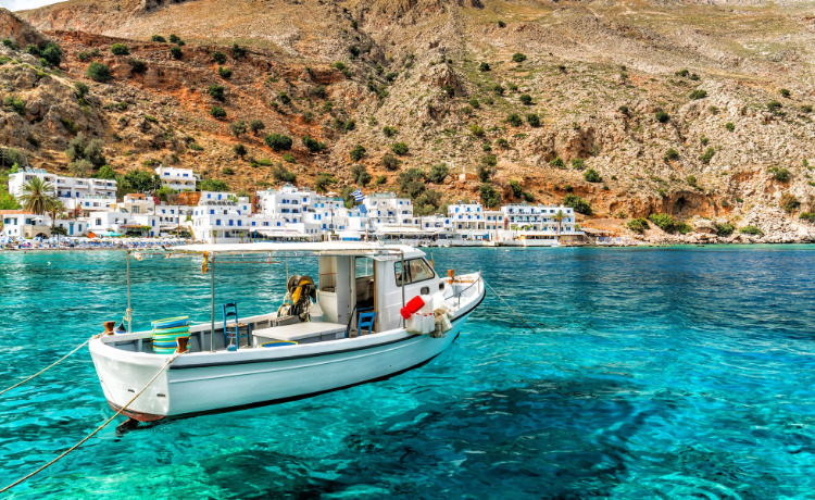 остров крит греция