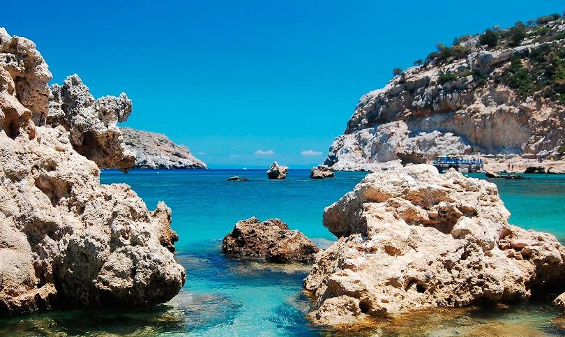греция море родос