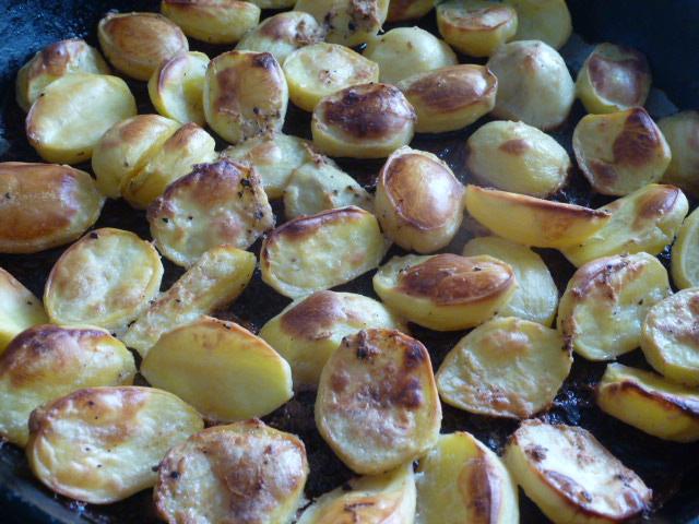 запеченный картофель в духовке к шашлыку
