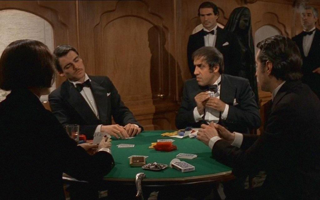 Как появился покер кадр из фильма Блеф