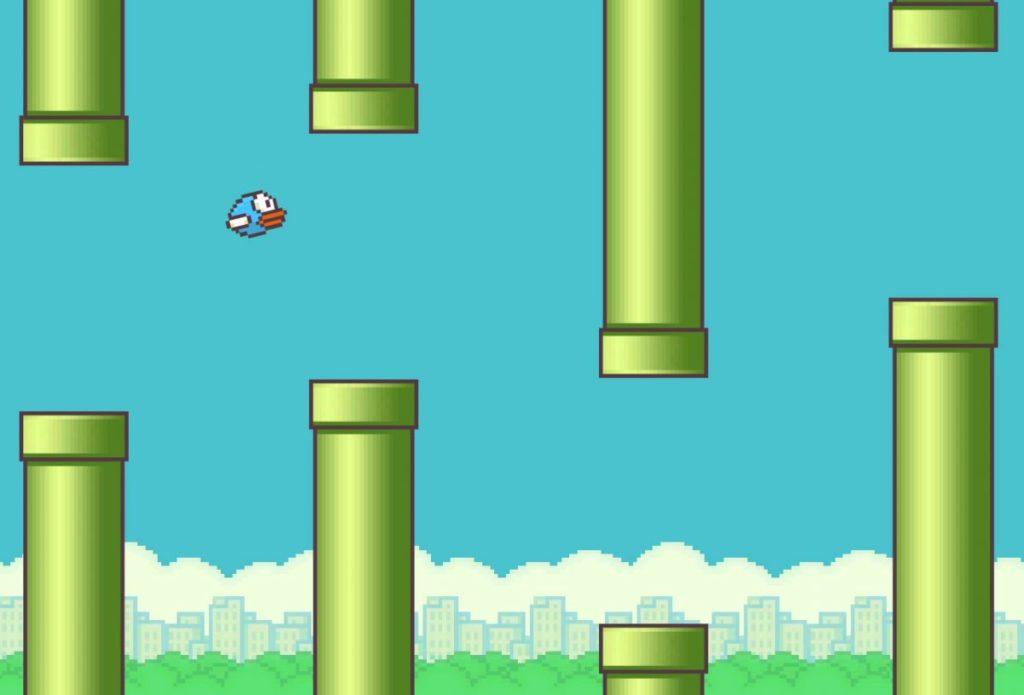 flappy bird игра