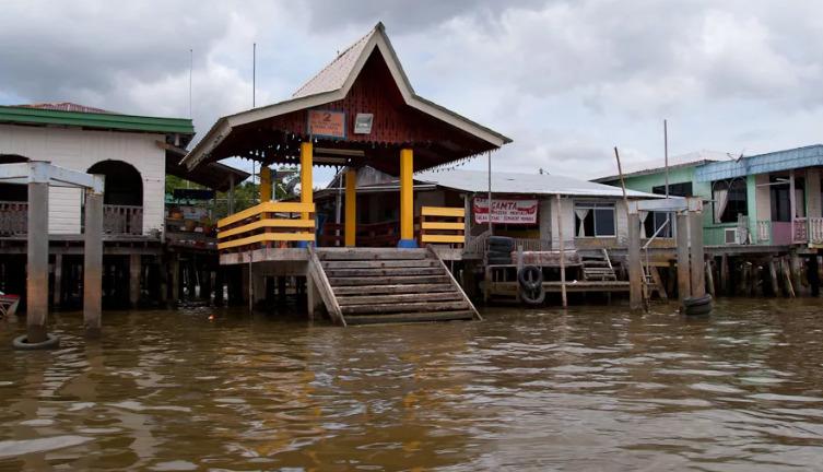 Деревня на воде в Брунее
