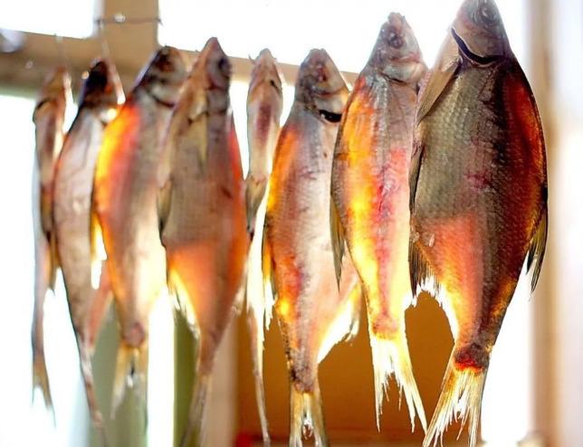 Вяленая рыба в домашних условиях