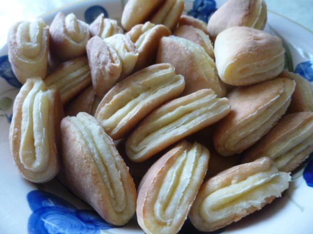 Печенье из творога без масла и маргарина