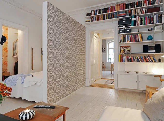 Как навести порядок в однокомнатной квартире