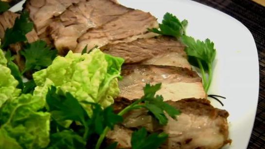 Свиная шейка в рукаве пошаговый рецепт