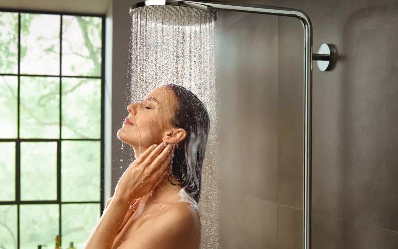 Контрастный душ отличное начало дня
