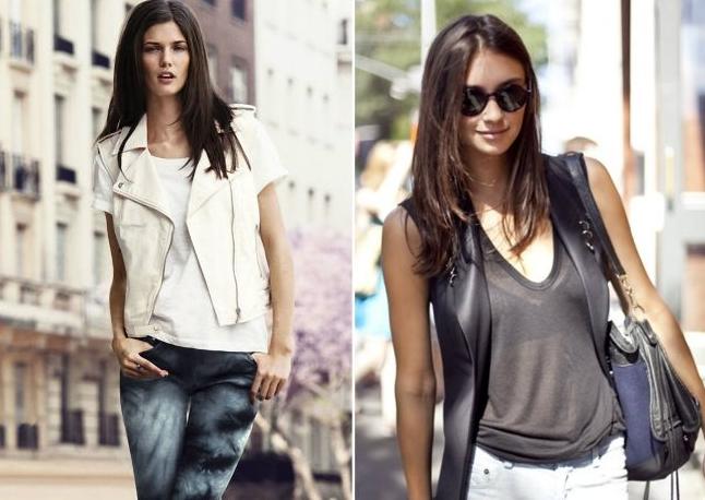 Одежда из кожи летом с чем носить