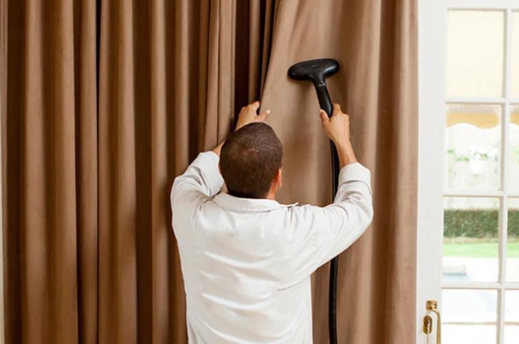 Как стирать шторы и тюль