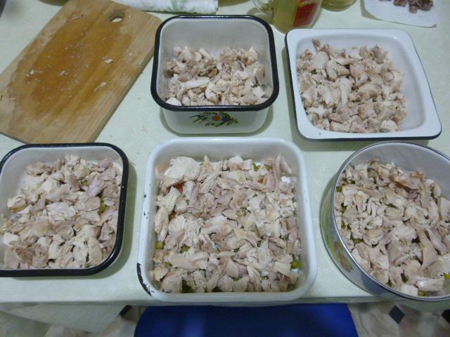 Заливное из курицы с желатином