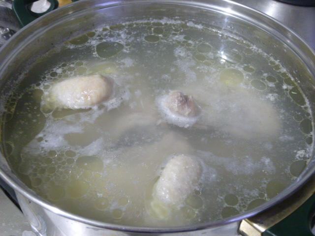 Заливное из курицы без желатина как приготовить