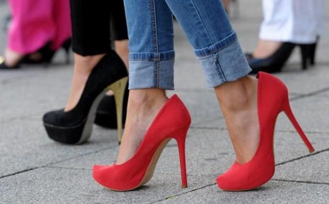Вредная обувь для женского здоровья