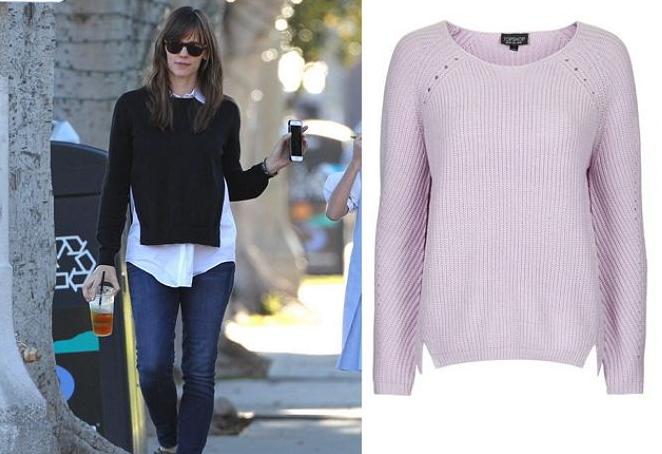 Джинсы и свитер как носить весной