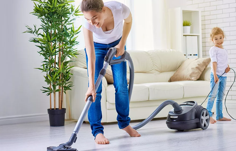 Как я пылесошу квартиру