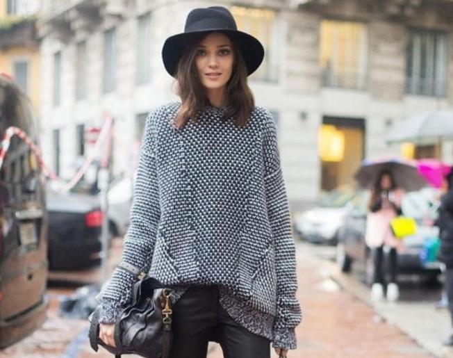 Трикотажные и вязаные вещи как носить