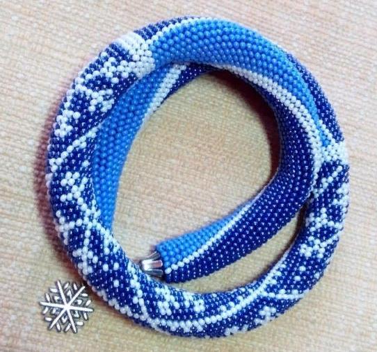 Бисероплетение колье и ожерелья