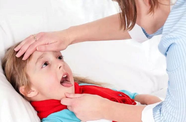 Герпесная ангина у детей фото
