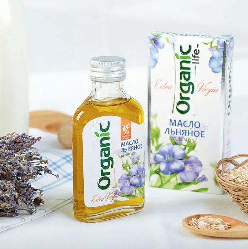 Льняное масло содержит Омега 3