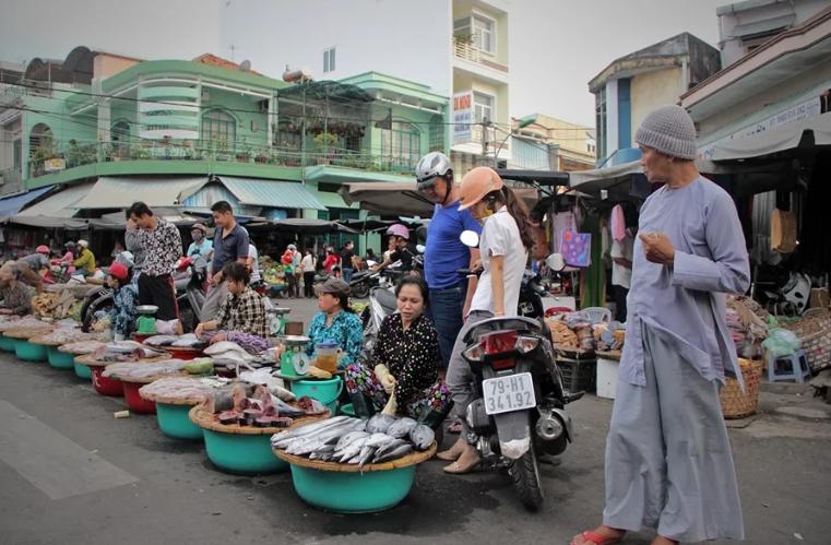 Рыбный рынок в Нячанге