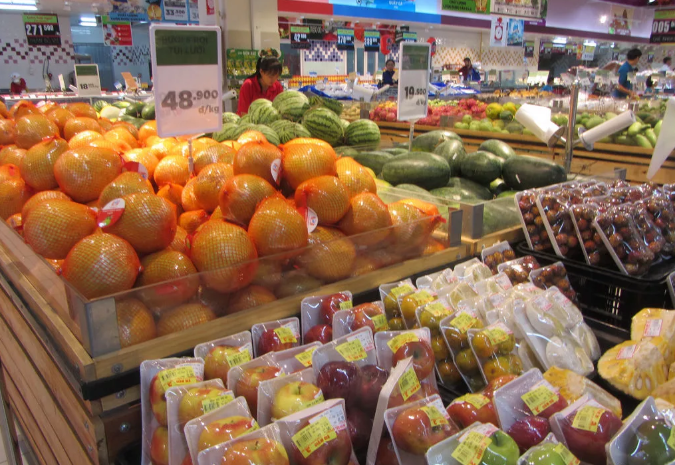 Цены на еду в супермаркетах Нячанга