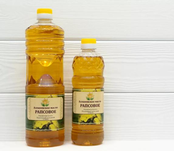 Рапсовое масло содержит альфа линоленовую кислоту