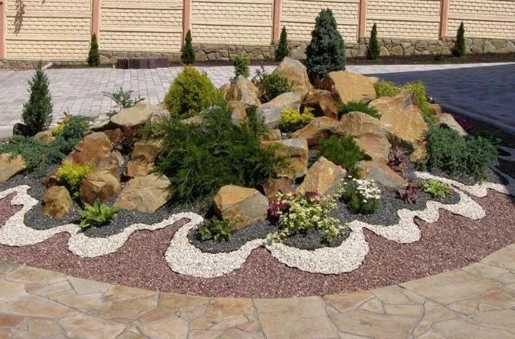 Ландшафтная композиция преобладанием камней называется рокарий