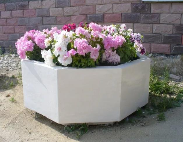 Садовые вазоны из бетона фото