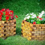 Садовые вазоны для цветов — разновидности