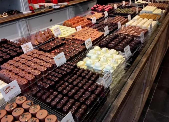 Шоколадное путешествие для туристов