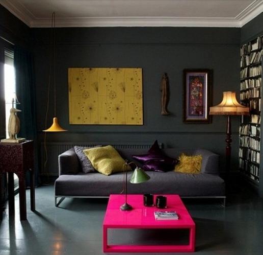 Предметы интерьера освежающие серый цвет