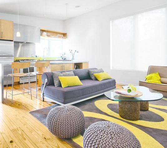 Как сочетать серый цвет в интерьере квартиры
