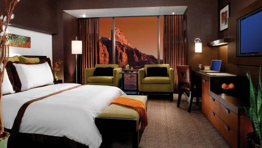 Спальня в шоколадных тонах фото
