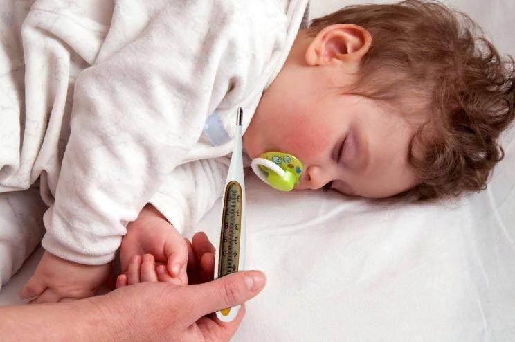 Температура после прививки у ребенка