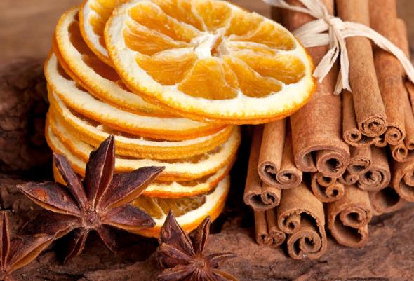 Как высушить апельсины для декора
