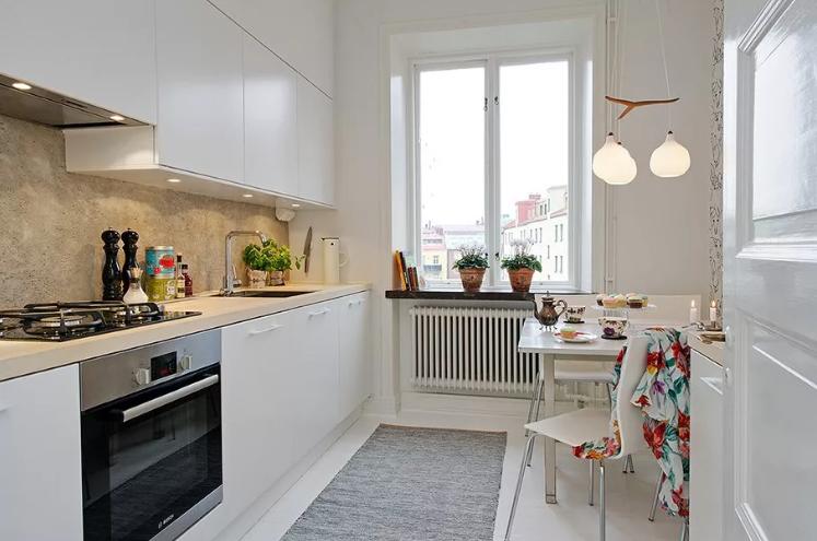 Как увеличить пространство маленькой кухни