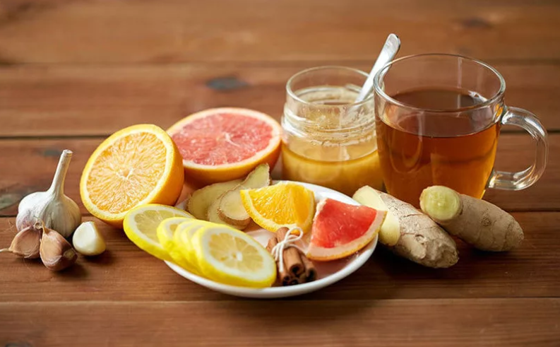 Чай с имбирем для похудения рецепт с фото