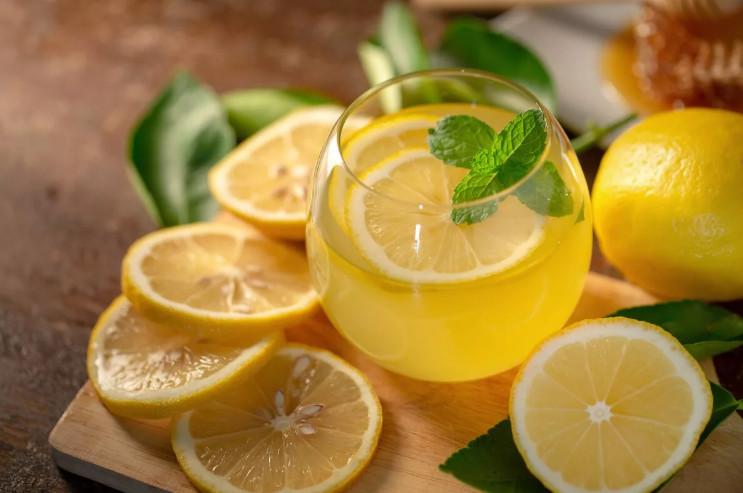 Лимонный чай фото