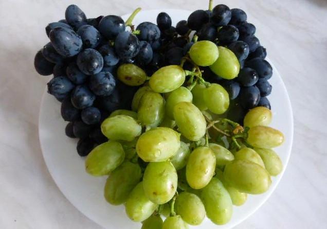 Виноград польза