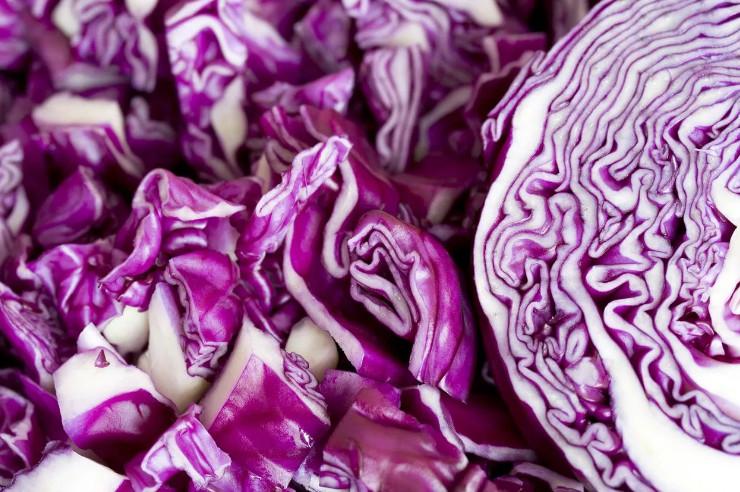 Витамины в краснокочанной капусте