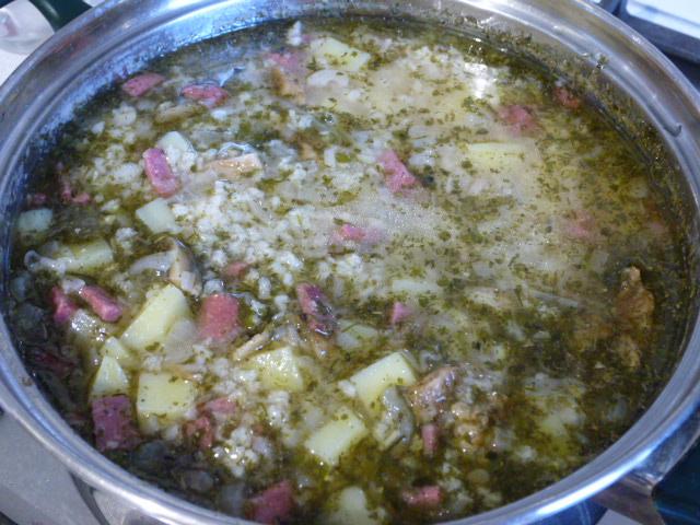 Кулеш с колбасой пошаговый рецепт с фото