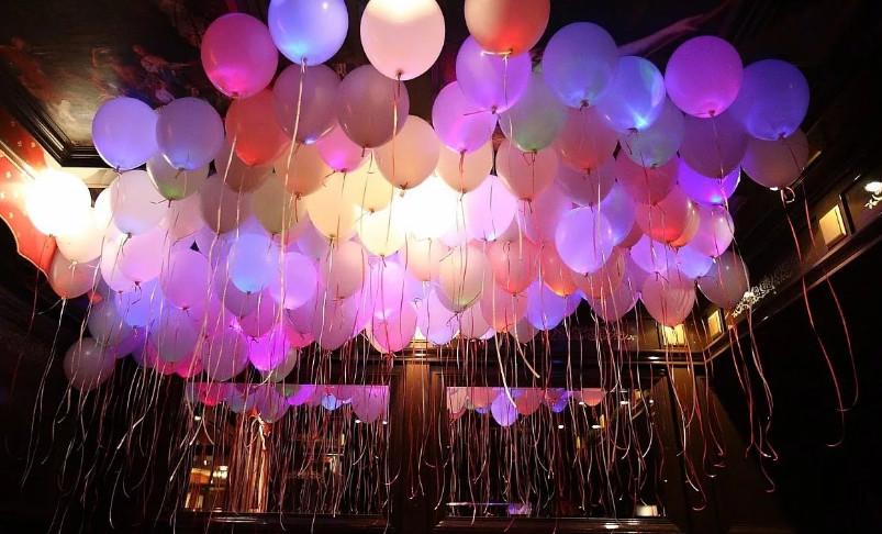 Светящиеся шары для праздника фото