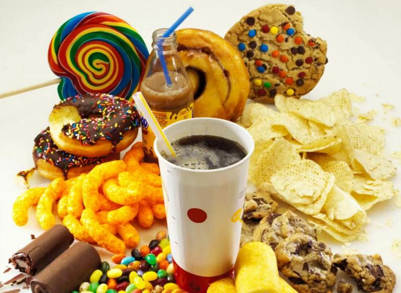 Вредная еда для организма