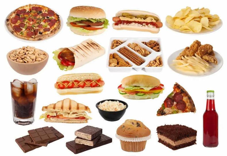 Вредная еда фото