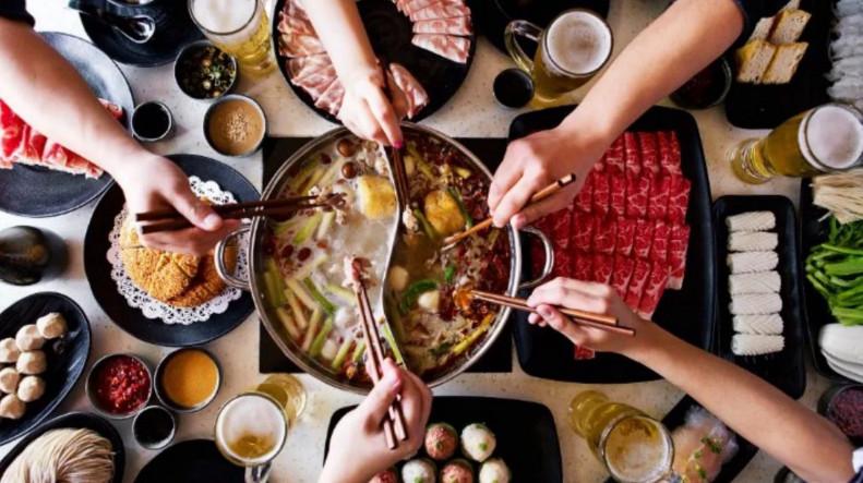 Еда в Гонконге китайский самовар